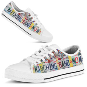 Marching band mom license plates low top@ springlifepro Marching356@low-top 262726
