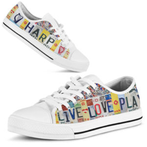 "HARP live love license plates LOW TOP@ springlifepro HARP323@low-top"" 262366"
