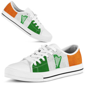 HARP IRELAND FLAG LOW TOP KD@ springlifepro harpflag8475@low-top 250841