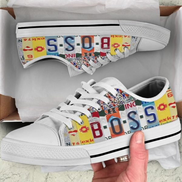 "boss license plates low top@ springlifepro bossit45899043@low-top"" 244555"