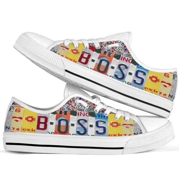 "boss license plates low top@ springlifepro bossit45899043@low-top"" 244550"