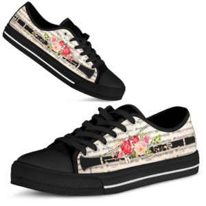 """CLARINET MUSIC FLOWER LOW TOP@ springlifepro clalow87838@low-top"""" 244098"""