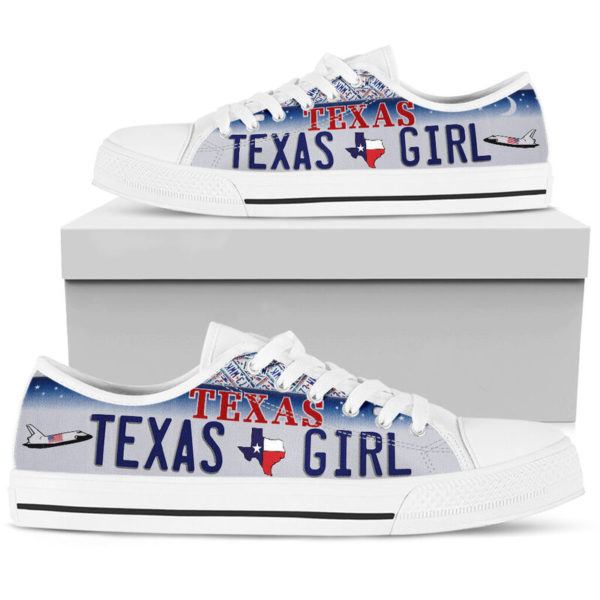 TEXAS GIRL license plates low top 2@ springlifepro TEXAS5245@low-top 243069
