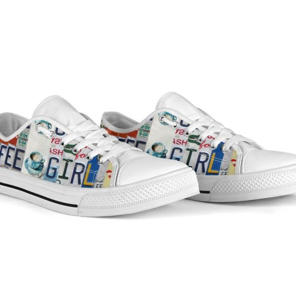 """coffee girl license plates LOW TOP@ springlifepro coffee3465@low-top"""" 242168"""