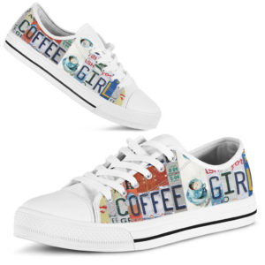 "coffee girl license plates LOW TOP@ springlifepro coffee3465@low-top"" 242163"