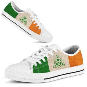 IRISH CELTIC PROTECTION IRELAND FLAG LOW TOP@ springlifepro ngfffb@low-top 238923