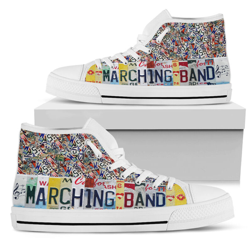 Marching band license plates hight top@ springlifepro Marv23v23@high-top 237624