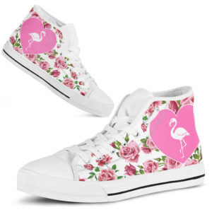 dt-10 Flamingo simole flower special high top gift@ shoesnp dt 10 Flamingo simole flower special high top gift@high-top 236718