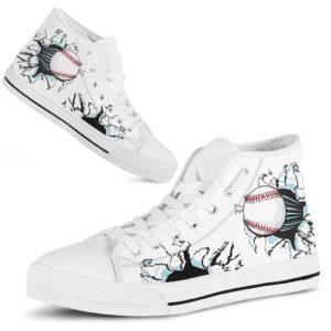 Baseball Fabric Tear High Top@ summerlifepro adfgt436@high-top 236583