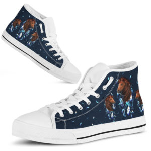 dt-3 Horse dream catcher high top shoes@ shoesnp dt 3 Horse dream catcher high top shoes@high-top 236493
