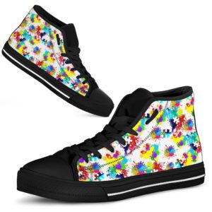 Autism Awareness Sneakers Autism@ abigboomusa Autism Awareness Sneakers High top@high-top 234585