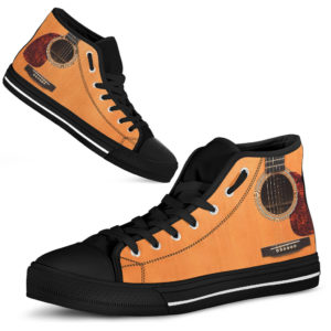 Acoustic Guitar High Top Shoes@ rockinbee guitar high 1710@high-top 227562