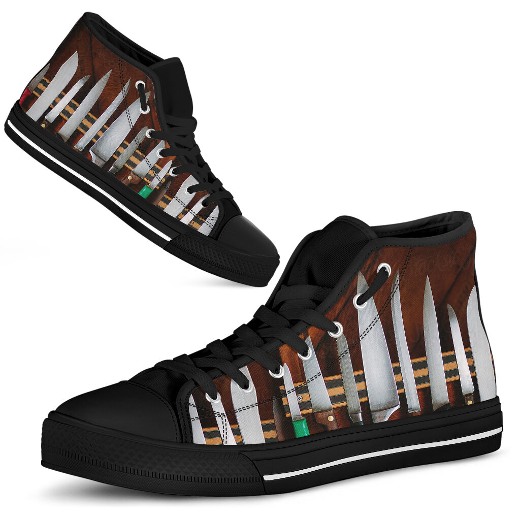 Chef High Top Shoes@ rockinbee chef knife2 111@high-top 227382