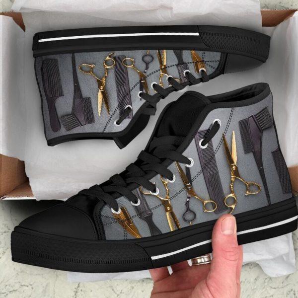 Hair Stylist High Top Shoes@ rockinbee hair stylist high 101@high-top 227344