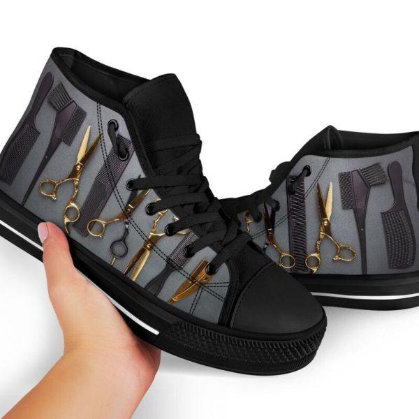 Hair Stylist High Top Shoes@ rockinbee hair stylist high 101@high-top 227340
