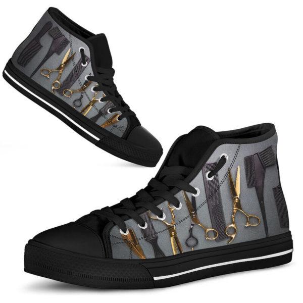 Hair Stylist High Top Shoes@ rockinbee hair stylist high 101@high-top 227338