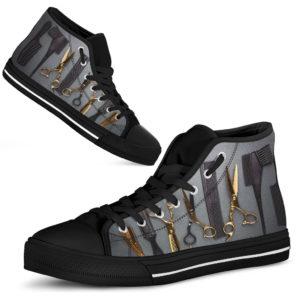 Hair Stylist High Top Shoes@ rockinbee hair stylist high 101@high-top 227337