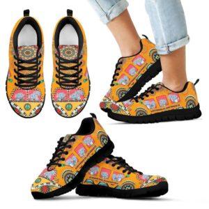 Elephant and hippie bus sneaker SKY 395886