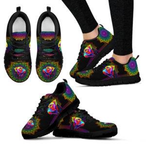 boxer dog colorful mandala Sneaker TTA 395697