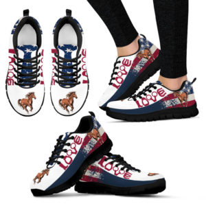 Horse Love Usa Sneaker - TL 394438