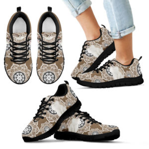 Siamese Mandala With Brown Color Sneaker - TL 390597