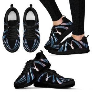 Deer holographic background Sneaker - LQT 386063