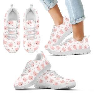 Pig Pink Lovely Heart Sneaker 385874