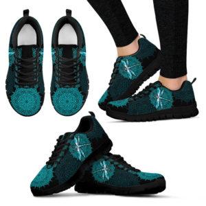 Drangonfly - Flower Mandala Shoes SKY 378683