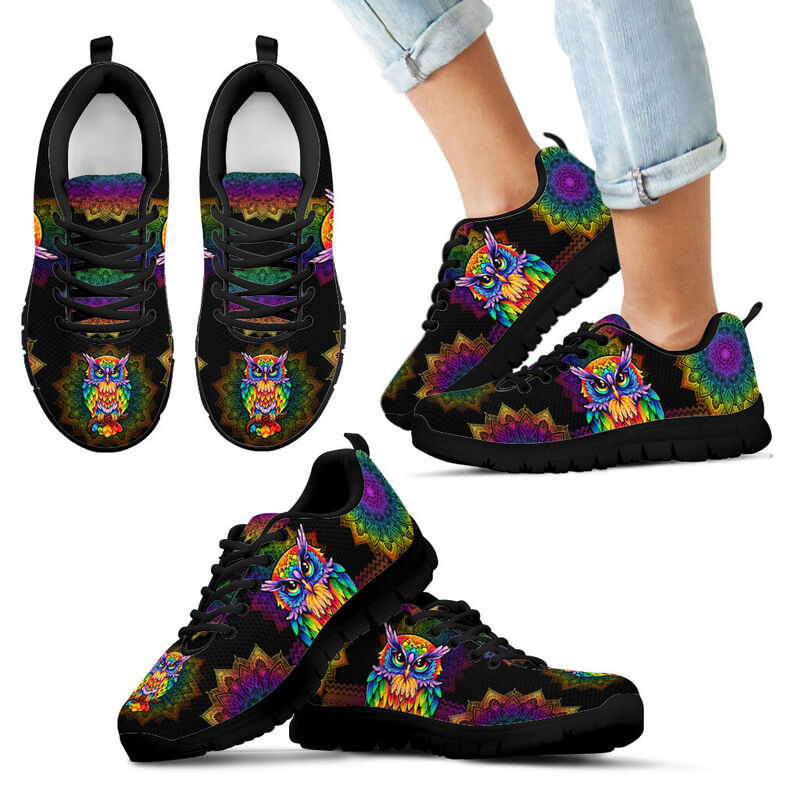 owl colorful mandala Sneaker TTA 378558