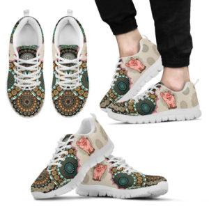 Pig - Vintage Mandala Shoes SKY 377801