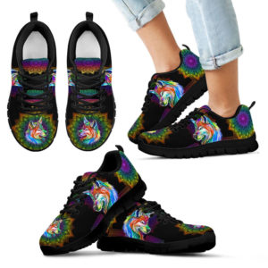 wolf colorful mandala Sneaker TTA 376352
