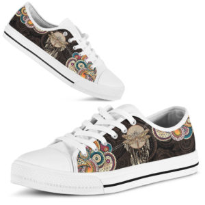 Dragonfly Henna Paisley Low Top White sole 375082