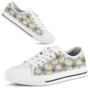 Bee Daisy Pattern LOW TOP NAL 374632