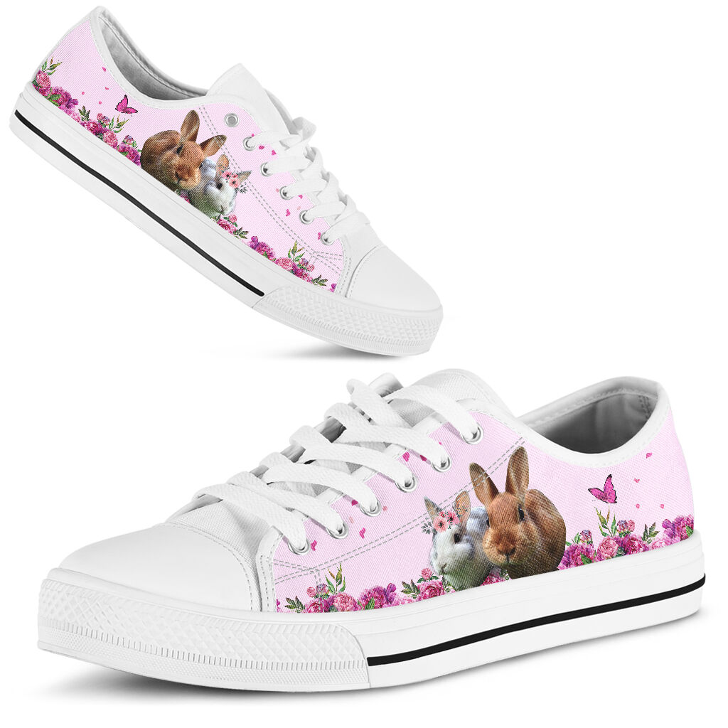 Bunny Rabbits Floral decoration low top - LQT 374272