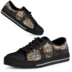 Dragonfly Henna Paisley Low Top Black 372516