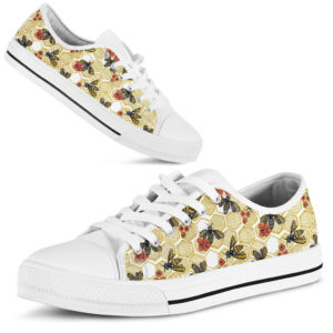Bee Hives With Flower Low Top - TL 370671