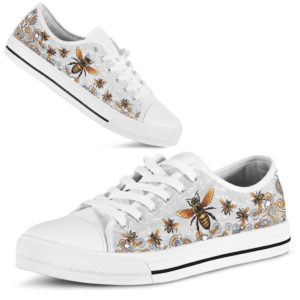 BEE PAISLEY FLOWER LOW TOP LQT 363696