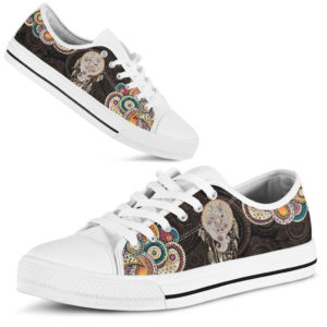 Horse Henna Paisley Low Top White sole 362931