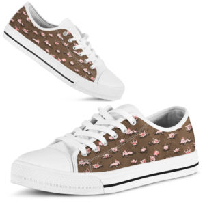 Pig - Pattern Funny Lovely Low Top SKY 359646