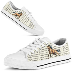 just a girl who loves horses low top 358566