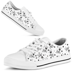 Cow and floral pattern Low Top NAL 358386