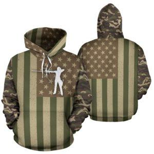 archery flag camo full hoodie 355835