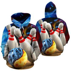 Bowling lunisolar Hoodie 355783
