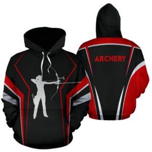 archery line art full hoodie 355029
