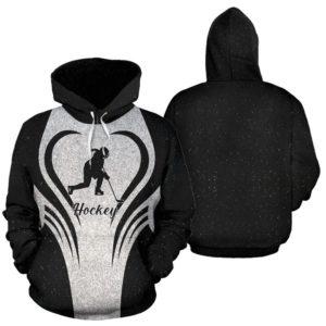 ice hockey heart glitter full hoodie 354457