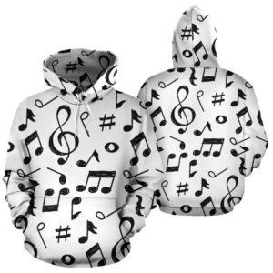 Music Note full hoodie 352108