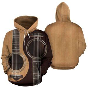 guitar ying yang full hoodie 351484