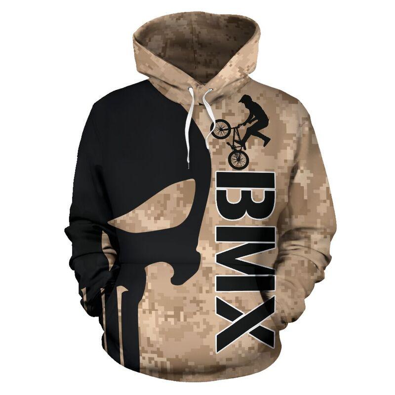 BMX SKULL FULL HOODIE 351408