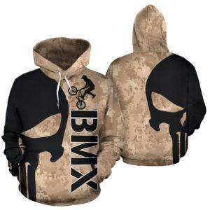 BMX SKULL FULL HOODIE 351406