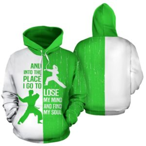 Karate - And Into The Place lime green KD 351042
